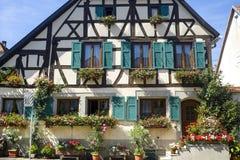 Rosheim (Alsácia) - casa Fotografia de Stock Royalty Free