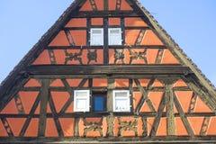Rosheim (Alsace) - hus Arkivbild