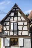Rosheim (Alsace) - hus Royaltyfria Bilder
