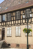Rosheim (Alsace) - hus Royaltyfri Fotografi