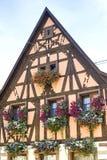 Rosheim (Alsace) - hus Arkivbilder