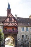 Rosheim (Alsacia) - arco Imagenes de archivo