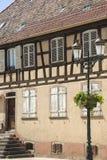 Rosheim (Alsacia) - casa Fotografía de archivo libre de regalías