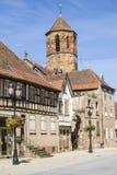Rosheim (de Elzas) Stock Foto