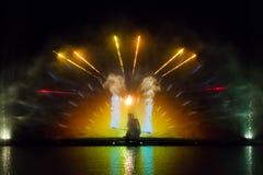 Roshen springbrunn - bild av brandlek Royaltyfria Bilder