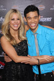 Roshon Fegan,Chelsie Hightower Royalty Free Stock Photos