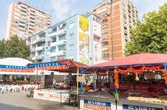 Roshtilyada in Leskovac, Serbien Stockfotos