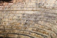 Rosia Montana gold mine,Romania. Rosia Montana opencast gold mine-Romania Royalty Free Stock Image