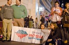 Rosia Montana Protest in Bukarest, Rumänien (9) Lizenzfreie Stockfotografie