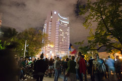 Rosia Montana Protest i Bucharest, Rumänien (16) Royaltyfri Foto