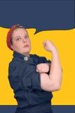 Rosie de klinkhamer Royalty-vrije Stock Fotografie