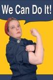 Rosie der Nieteneinschläger Lizenzfreie Stockbilder