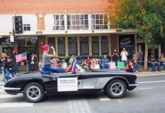 Rosie el remachador, desfile del día del ` s del veterano fotos de archivo