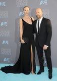 Rosie Huntington-Whiteley e Jason Statham Fotos de Stock