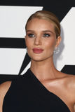 Rosie Huntington-Whiteley. NEW YORK-APR 8: Model Rosie Huntington-Whiteley attends the premiere of `The Fate of the Furious` at Radio City Music Hall on April 8 Royalty Free Stock Photos