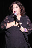 Rosie O'Donnell performing live. Stock Photo