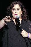 Rosie O'Donnell performing live. Stock Photos