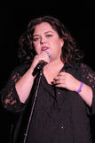 Rosie O'Donnell performing live. Rosie O'Donnell performing at the True Colors Tour at the Greek Theatre in Los Angeles stock photos