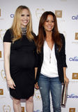 Rosie Pope and Brooke Burke Stock Photography