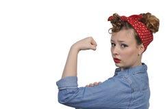 Rosie Riveter Στοκ Εικόνες