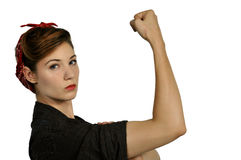 Free Rosie The Riveter Stock Images - 78349184