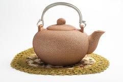 Rosiges Set für Tee Lizenzfreie Stockbilder