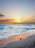Rosignano ` s plaża Zdjęcia Stock