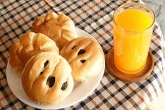Brot zum Frühstück Stockfotografie