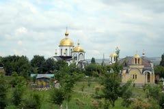 Rosja, Essentuki Świątynny kompleks Peter i Paul obraz royalty free