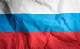 Rosja federaci flaga państowowa, tło i tło, Fotografia Stock