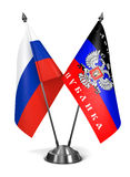 Rosja i Donetsk osob republika - miniatura Fotografia Stock