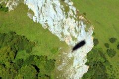 Rosja Kabardino-Barkar republika Chegem paradrome dokąd sen przychodzą prawdziwego, loty nad ziemią! zdjęcie royalty free