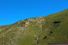 Rosja Kabardino-Barkar republika majestatyczne góry Północny Kaukaz! mnóstwo turyści od Rosja i cudzoziemski countri, obraz stock