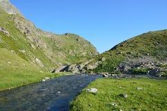 Rosja Kaukaska biosfery rezerwa, źródło rzeczny Imeretinka Fotografia Royalty Free