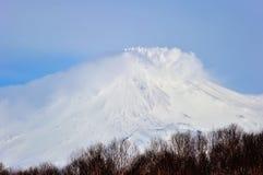 Rosja, Klyuchevskaya Volcanoes grupa obrazy royalty free