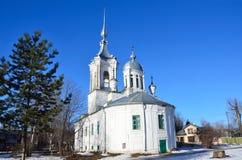 Rosja Ko?ci?? Barlaam Hutyn Hutynsky w Vologda, 1780 rok buduj?cych fotografia stock