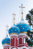 Rosja kościół Tsarevich Dmitry na krwi w Uglich Obraz Royalty Free