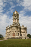 Rosja Kościół znak Błogosławiona dziewica w Dubrovitsy Obraz Royalty Free