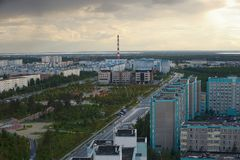 Rosja, Kogalym, Zachodni Syberia zdjęcie stock