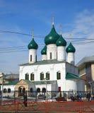 Rosja, marzec 29 2016 Kościół wniebowstąpienie Obraz Stock