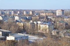 Rosja Miasto Vologda w marszu obraz stock