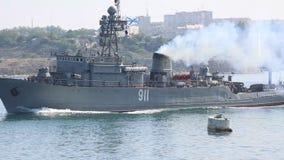 Rosja - morski trałowiec zdjęcie wideo