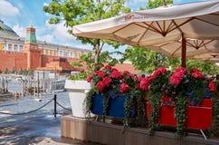 Rosja moscow plac czerwony Maj 25, 2017 Obrazy Stock