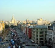 Rosja, Moskwa: centrum ruch Fotografia Stock