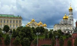 Rosja, Moskwa 22 06 2017 katedr w Moskwa Kre i kościół Obraz Royalty Free