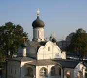 Rosja, Moskwa kościół poczęcie Anne w kącie Obrazy Stock
