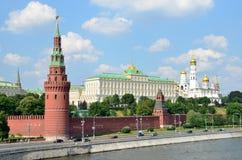 Rosja, Moskwa Kremlin w lecie Zdjęcia Royalty Free
