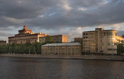 Rosja, Moskwa, miasto widoki, ery architektura Zdjęcia Stock