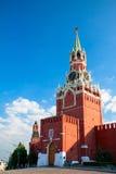 Rosja, Moskwa. Moskwa Spassky Wierza Kremlin Fotografia Stock