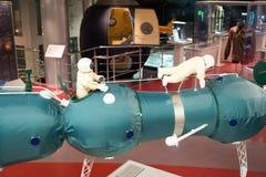 Rosja, Moskwa, muzeum kosmonautyka zdjęcie stock